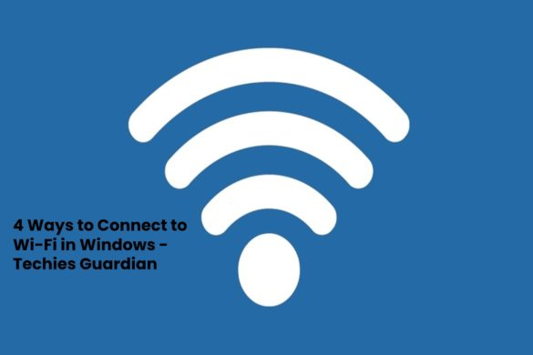 Connect to Wi-Fi in Windows