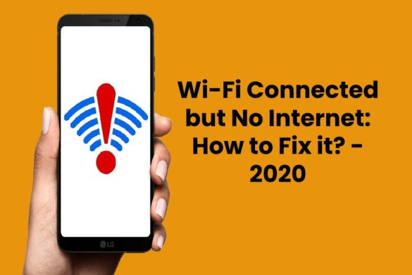 Wi-Fi Connected but No Internet