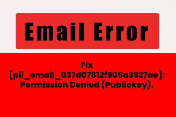 [pii_email_037d07812f905a3927ae]_ Permission Denied (Publickey).
