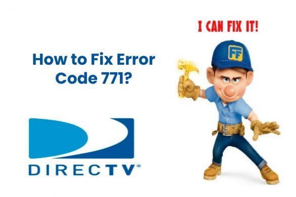 How to Fix Error Code 771