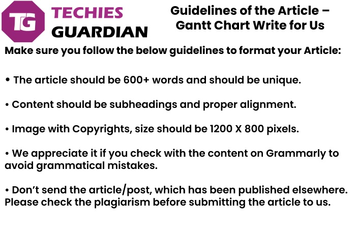 guidelines for the article techies guardian